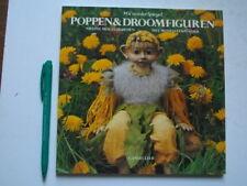 POPPEN & DROOMFIGUREN met Modelleerpoeder, Wil v/d Spiegel, stap-voor-stap+patro