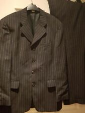 suit. trouser size 34 in. jacket size 40 chest. grey prom.wedding. formal.