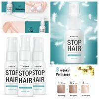 20ML Stop Hair Growth Unisex Haarhemmer Schmerzlose Haarlose Spray Permanent yu