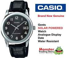 AUSTRALIAN SELLER CASIO MTP-VS01L-1B1D SOLAR POWERED WITH DATE 12 MONTH WARRANTY