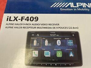 "ALPINE iLX-F309 9"" 1-Din Digital Media Bluetooth Receiver HDMI/CarPlay/HD Radio"