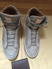 Louis Vuitton FD 1114 Mens Sneakers LV 9.5 Made In Italy
