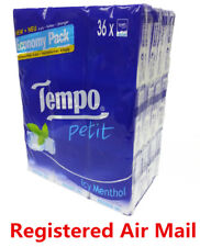 36 packs Icy Menthol Tempo Petit Pocket Tissues Paper 4 ply