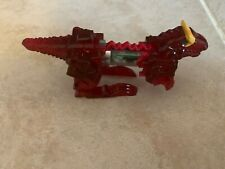 Power Rangers Dino Charge ~ Charger #15 Allosaurus Red Zord Holder Translucent