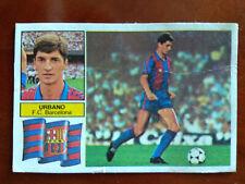 Cromo Urbano versión Barça liga 82 83 ediciones este temporada 1982 1983 fútbol