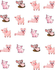 Pigs Waterslide Nail Decals/Nail art
