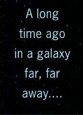 STAR WARS Un Lungo Tempo Fa In Galaxy Lontano Biglietto Di Auguri Compleanno