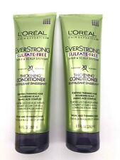 Loreal Paris Ever Strong THICKENING CONDITIONER - Lot of 2 - 8.5 oz Each