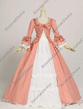 Renaissance Colonial Dress Ball Gown Reenactment Theater Period Clothing 257 XL