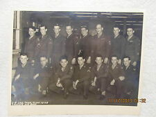 Vtg. Military Group Photo C-8 Link Trnr. Class Chanute Air Base With Signatures