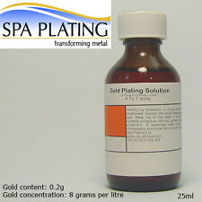 Gold Brush Plating Solution 25ml