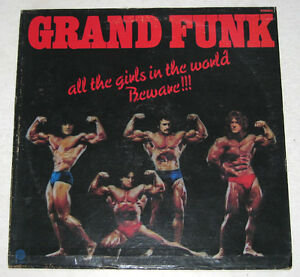 Philippines GRAND FUNK All The Girls In The World Beware!!! LP Record