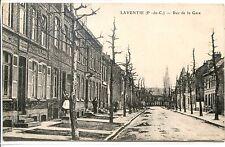 CP 62 - PAS-DE-CALAIS - Laventie - Rue de la Gare