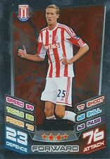 N°374 PETER CROUCH STOKE CITY TRADING CARD MATCH ATTAX TOPPS 2013