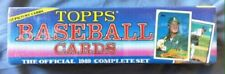 VINTAGE 1989 TOPPS BASEBALL CARD SEALED FACTORY SET NEW OLD STOCK POSSIBLE GEMS
