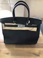 Hermes Original NEU Birkin Bag Noir 35 Togo Leder Black  Zubehör Ovp New Kelly
