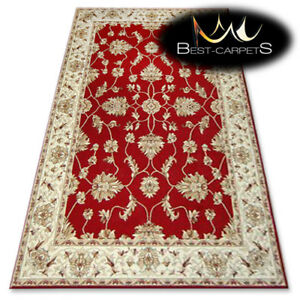 "TRADITIONAL AGNELLA RUGS claret oriental ""STANDARD"" modern designs carpet"