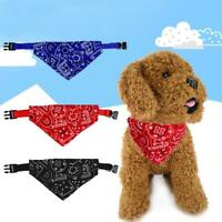 3Colors Adjustable Cute Pet Collar Puppy Neck Scarf Pet Grooming Triangle Scarf