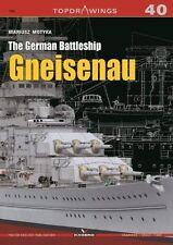 Kagero Topdrawings 40: The German Battleship Gneisenau