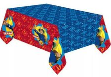 1.2x 1.8m FIREMAN SAM Birthday Party Disposable Plastic Table Cover Cloth New
