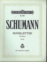 """Schumann : """" Noveletten """" Op. 21 Hrsg. Clara Schumann"""
