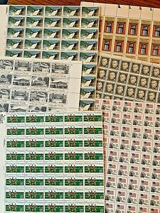 US DISCOUNT POSTAGE STAMPS - FV: $78. 20 cent sheets. Mint. 390 stamps.