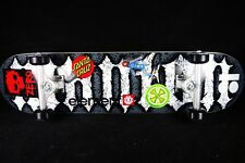 Skateboard Complete Titanium Trucks Element Santa Cruz Zero Girl Plan B Stickers