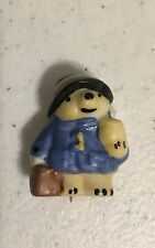 """Vintage Coalport Paddington Bear Pin 1"""" Tall"""