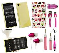 Pack D'accessoires pour Sony Xperia Coque Support Voiture Casque Chargeur Aux &