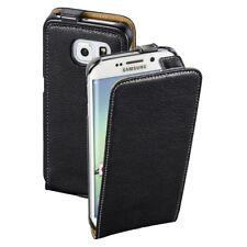 "Hama flap-bolsa ""smart case"" para Samsung Galaxy s6 Edge, negro"