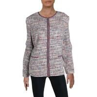 Basler Womens Tweed Zip-Up Workwear Blazer Jacket BHFO 3035