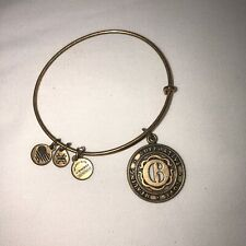 Alex and Ani Numerology Bracelet #6 Copper Adjustable Slide