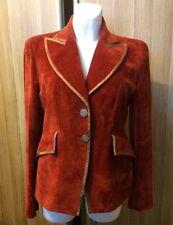 CHRISTIAN LACROIX Vintage  ELEGANT Women's velour blazer jacket   size 42  GB 12