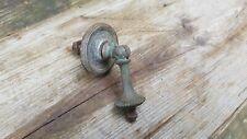 Antique Georgian c1800 Door Handle Cupboard Draw Brass Reclaimed Architectural