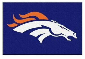 """Fanmats NFL Denver Broncos Rookie Mat Area Rug, Bath Mat 20""""x 30"""" Del. 2-4 Days"""