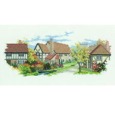 Derwentwater Designs Lanes Cross Stitch Kit - October Lane