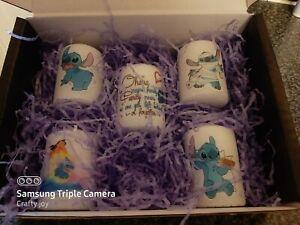 lilo and stitch   votive candle set