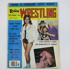 THE RING WRESTLING VINTAGE 1976 WRESTLING MAGAZINE WWF NWA AWA - RIC FLAIR