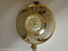 VTG SWISS LUCERNE  WOMENS  SILVER TONE PENDANT WATCH, RUNNING