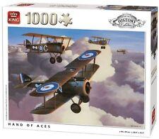 1000 Piezas Rompecabezas Colección De Historia-mano De Ases WW1 aviones 05622