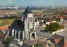 Carte ISBERGUES L'église Vue aérienne