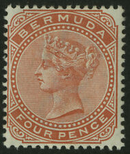 Bermuda  1883-1904  Scott # 24  Mint Lightly Hinged
