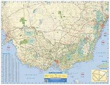 NEW Laminated Wall Maps - VIC South East Australia Wall Map