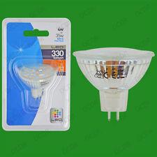 100x 4W LED Ultra Low Energy, Instant On, 12V MR16, GU5.3 Spot Light Bulbs Lamps