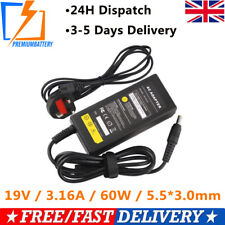 FOR SAMSUNG R519 v300 adp60zh-d AD-6019R NP350V5C-A09UK CHARGER+ LEAD POWER CORD