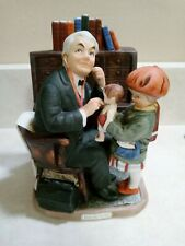 Norman Rockwell, Doctor And The Doll figurine - Dave Grossman Designs 1973