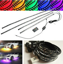 Waterproof Colorful LED Tubes Light Strip APP Control Kit for Car Body Underglow