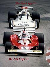 Clay Regazzoni Ferrari 312 T2 Monaco Grand Prix 1976 Photograph 1
