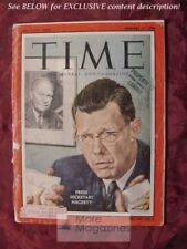 TIME magazine January 27 1958 Jan 1/27/58 WHITE HOUSE JAMES HAGERTY