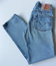 Herren Levis 505 Straight Leg Jeans W29 L32 blau Größe 29R Levi Strauss